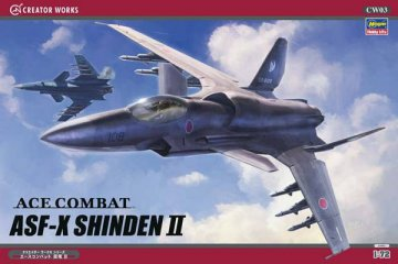 ACE Combat ASF-X Shinden II. · HG 664503 ·  Hasegawa · 1:72