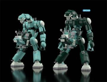 Mechatro CHUBU 01 No. 01 - Hellgrün und Grün - 2 Kits · HG 664521 ·  Hasegawa · 1:35