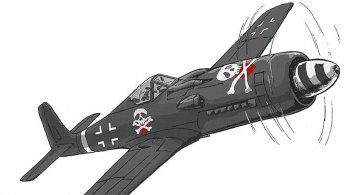 Black Knight of Berlin, FW190D9 + MW262A1a · HG 664727 ·  Hasegawa · 1:72