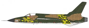 F-105D Thunderchief Nguyen Van com (Area-88) · HG 664764 ·  Hasegawa · 1:72