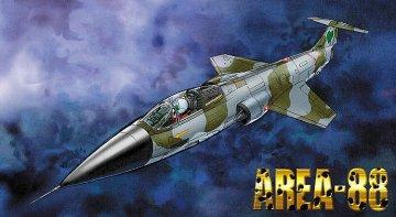 Area-88, F104 Starfighter G-Version, Seilane Balnock · HG 664774 ·  Hasegawa · 1:48