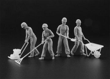 Bauarbeiter Set A · HG 666003 ·  Hasegawa · 1:35