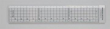 Schneidelineal mit 15 cm Läng · HG 671540 ·  Hasegawa