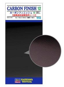 Carbon Fiber Finish 12 (Large-meshes) Detail Up Vapor Deposition Sheet · HG 671810 ·  Hasegawa