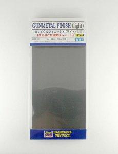 Klebefolie Waffenmetal, hell, 90 x 120 mm · HG 671923 ·  Hasegawa
