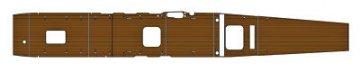 Holzdeck für 1/350 Aircraft Carrier Akagi, inklusive Photoätzteilen und Stickerset. · HG 672125 ·  Hasegawa · 1:350