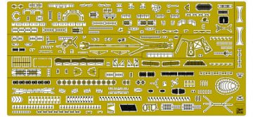 Photo Etched Parts Basic ´B´ Set for IJN Light Cruiser Agano Class · HG 672138 ·  Hasegawa · 1:350