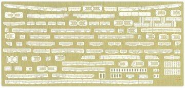 Hikawamaru Detail Up Etching Parts Basic. · HG 672149 ·  Hasegawa · 1:350