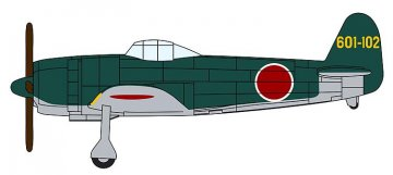 Japanisches Flugzeug-Set für Flugzeugträger · HG 672156 ·  Hasegawa · 1:450