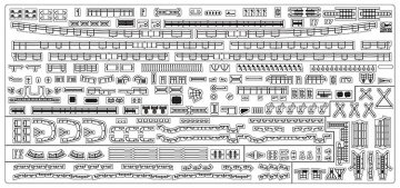 Mikasa Detail-Upgrade Photoätzteile · HG 672159 ·  Hasegawa · 1:700