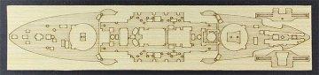 Holzdeck für Kriegsschiff Mikasa · HG 672160 ·  Hasegawa · 1:700