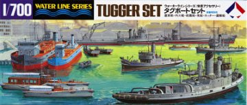 Tugger Set · HG 699509 ·  Hasegawa · 1:700