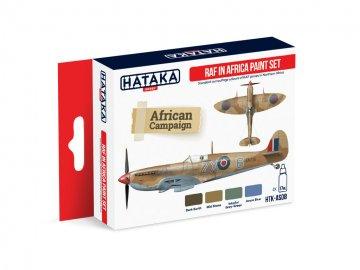 RAF in Africa - Red Line Paint set (4 x 17ml) · HTK AS008 ·  Hataka