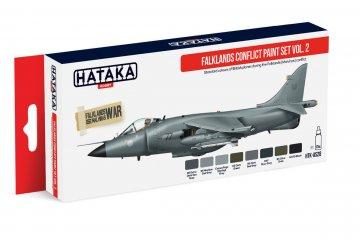 Falklands Conflict Vol. 2 - Red Line Paint set (8 x 17ml) · HTK AS028 ·  Hataka