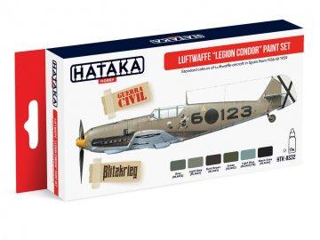 Luftwaffe ?Legion Condor? - Red Line Paint set (6 x 17ml) · HTK AS032 ·  Hataka