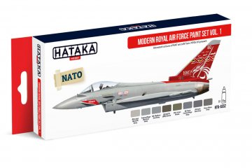 Modern Royal Air Force Vol. 1 - Red Line Paint set (8 x 17ml) · HTK AS052 ·  Hataka