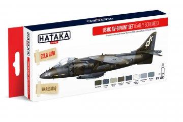 USMC AV-8 (early schemes) - Red Line Paint set (8 x 17ml) · HTK AS063 ·  Hataka
