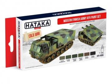 Modern Finnish Army AFV - Red Line Paint set (6 x 17ml) · HTK AS065 ·  Hataka