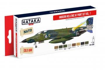 Modern Hellenic AF Vol. 1 - Red Line Paint set (8 x 17ml) · HTK AS068 ·  Hataka