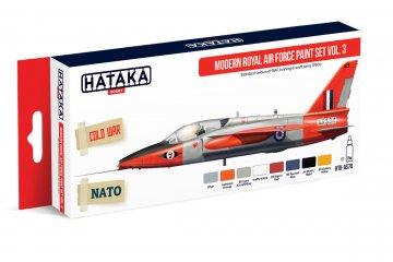 Modern Royal Air Force Vol. 3 - Red Line Paint set (8 x 17ml) · HTK AS070 ·  Hataka