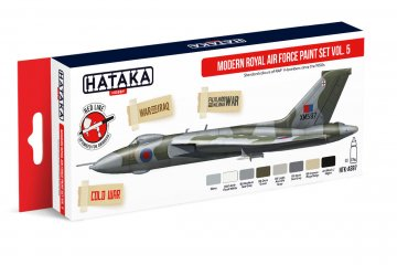 Modern Royal Air Force Vol. 5 - Red Line Paint set (8 x 17ml) · HTK AS097 ·  Hataka
