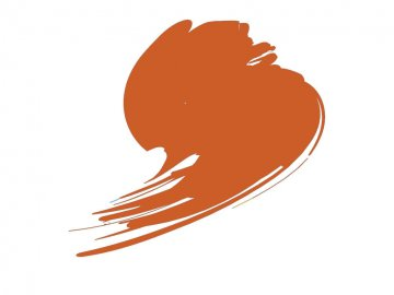 Signal Orange (RAL 2010) - Blue Line (17ml) · HTK B133 ·  Hataka
