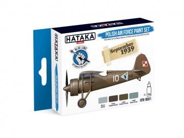 Polish Air Force - Blue Line Paint set (4 x 17ml) · HTK BS001 ·  Hataka