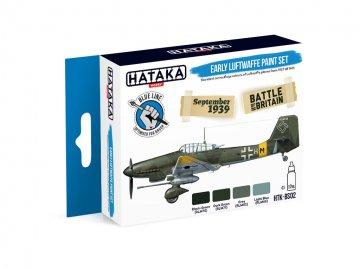 Early Luftwaffe - Blue Line Paint set (4 x 17ml) · HTK BS002 ·  Hataka