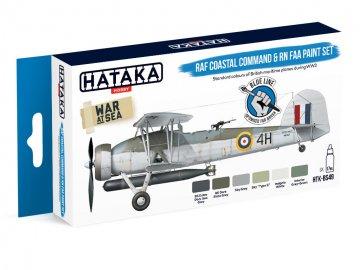 RAF Coastal Command & RN FAA - Blue Line Paint set (6 x 17ml) · HTK BS049 ·  Hataka