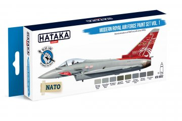 Modern Royal Air Force Vol. 1 - Blue Line Paint set (8 x 17ml) · HTK BS052 ·  Hataka