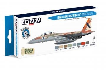 Israeli Air Force (modern jets) - Blue Line Paint set (8 x 17ml) · HTK BS062 ·  Hataka