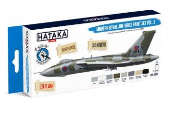 Modern Royal Air Force Vol. 5 - Blue Line Paint set (8 x 17ml) · HTK BS097 ·  Hataka