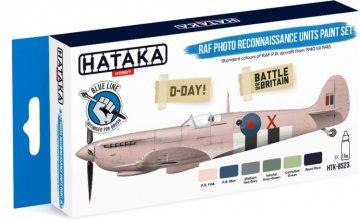 RAF Photo Reconnaissance Units - Blue Line Paint set (6 x 17ml) · HTK BS23 ·  Hataka