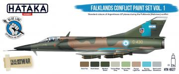 Falklands Conflict - Vol. 1 - Blue Line Paint set (8 x 17 ml) · HTK BS27 ·  Hataka