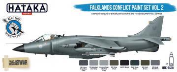 Falklands Conflict - Vol. 2 - Blue Line Paint set (8 x 17 ml) · HTK BS28 ·  Hataka