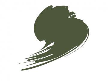 BS Olive Green (BS381C:220) - Orange Line (17ml) · HTK C236 ·  Hataka