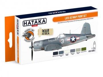 Late US Navy - Orange Line Paint set (6 x 17ml) · HTK CS005 ·  Hataka