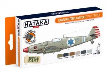 Israeli Air Force (early period) - Orange Line Paint set (6 x 17ml) · HTK CS034 ·  Hataka