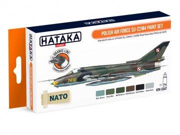 Polish Air Force Su-22M4 - Orange Line Paint set (6 x 17ml) · HTK CS047 ·  Hataka