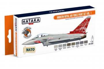 Modern Royal Air Force Vol. 1 - Orange Line Paint set (8 x 17ml) · HTK CS052 ·  Hataka