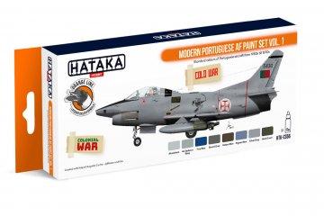 Modern Portuguese AF Vol. 1 - Orange Line Paint set (8 x 17ml) · HTK CS056 ·  Hataka