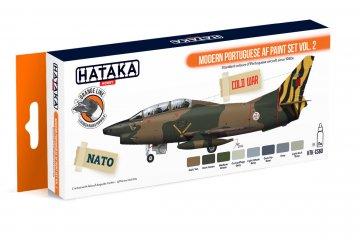 Modern Portuguese AF Vol. 2 - Orange Line Paint set (8 x 17ml) · HTK CS060 ·  Hataka