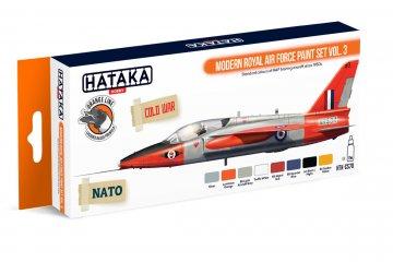 Modern Royal Air Force Vol. 3 - Orange Line Paint set (8 x 17ml) · HTK CS070 ·  Hataka
