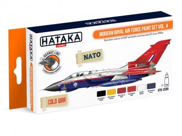 Modern Royal Air Force Vol. 4 - Orange Line Paint set (6 x 17ml) · HTK CS085 ·  Hataka