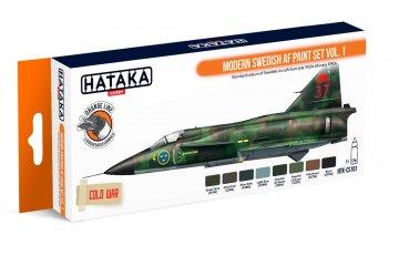 Modern Swedish AF Vol. 1 - Orange Line Paint set (8 x 17ml) · HTK CS101 ·  Hataka
