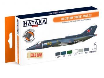 Yak-38/38M Forger - Orange Line Paint set (6 x 17ml) · HTK CS111 ·  Hataka