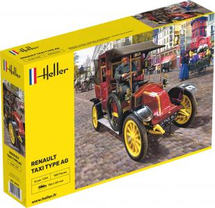 Renault Taxi Type AG · HE 30705 ·  Heller · 1:24