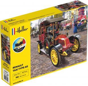 Renault Taxi Type AG - Starter Kit · HE 35705 ·  Heller · 1:24