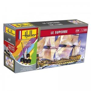 Le Superbe · HE 49067 ·  Heller · 1:500