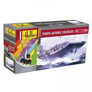 Porte-Avions Colossus · HE 49076 ·  Heller · 1:1600
